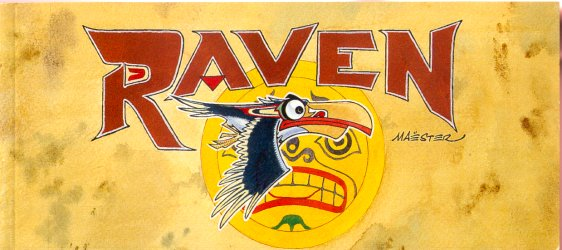 Couverture de Raven (Maëster) - Raven