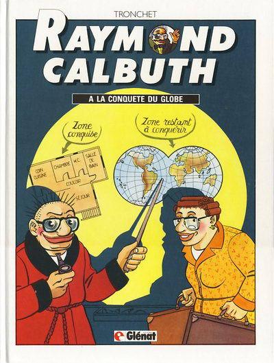 Couverture de Raymond Calbuth -2- A la conquête du globe