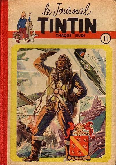 Couverture de (Recueil) Tintin (Album du journal - Édition française) -11- Tintin album du journal