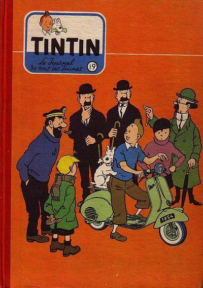 Couverture de (Recueil) Tintin (Album du journal - Édition française) -19- Tintin album du journal