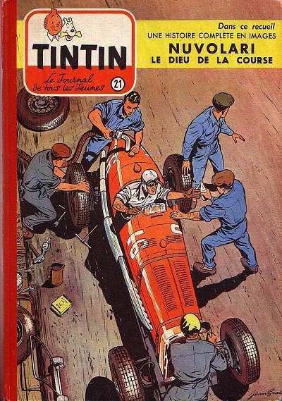 Couverture de (Recueil) Tintin (Album du journal - Édition française) -21- Tintin album du journal