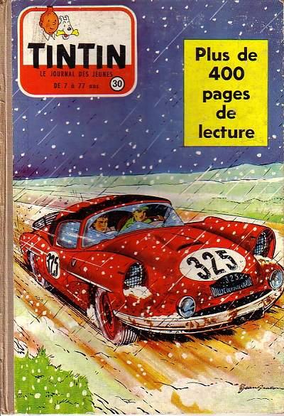 Couverture de (Recueil) Tintin (Album du journal - Édition française) -30- Tintin album du journal