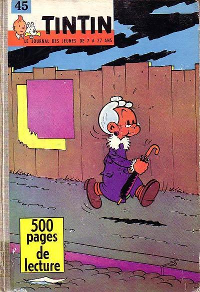 Couverture de (Recueil) Tintin (Album du journal - Édition française) -45- Tintin album du journal