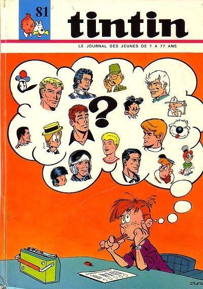 Couverture de (Recueil) Tintin (Album du journal - Édition française) -81- Tintin album du journal