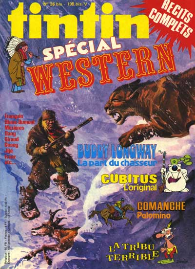 Couverture de (Recueil) Tintin Super -5- Spécial western