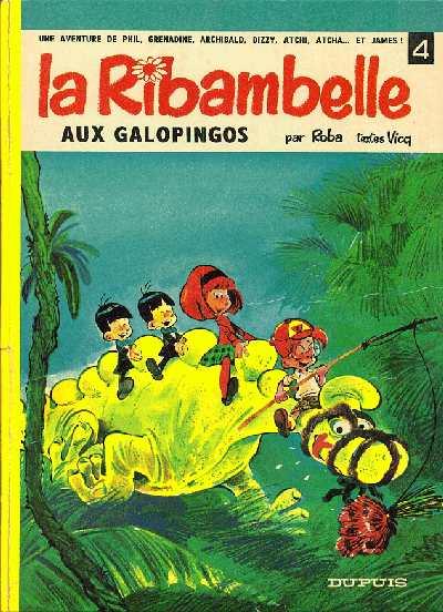 Couverture de La ribambelle -4- La Ribambelle aux Galopingos