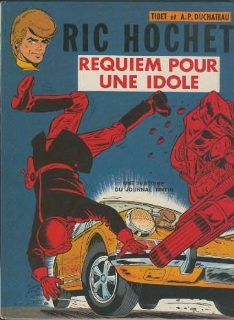 Couverture de Ric Hochet -16- Requiem pour une idole