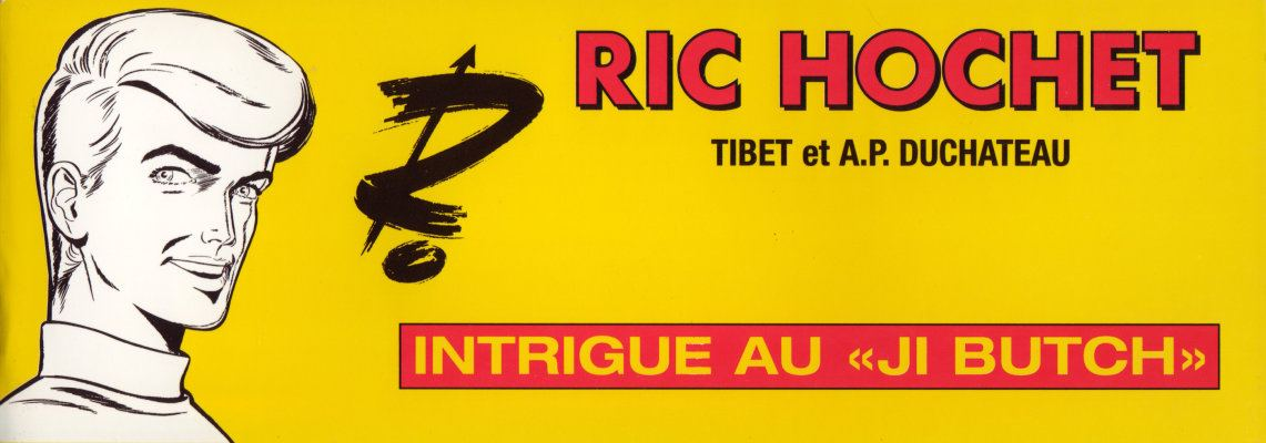 Couverture de Ric Hochet -HS5- Intrigue au