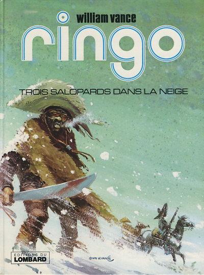 Couverture de Ringo (Vance) -3- Trois salopards dans la neige