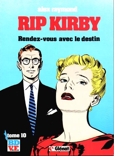 Couverture de Rip Kirby -10- Rendez-vous avec le destin