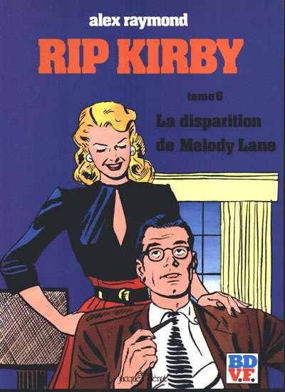 Couverture de Rip Kirby -6- La disparition de Melody Lane