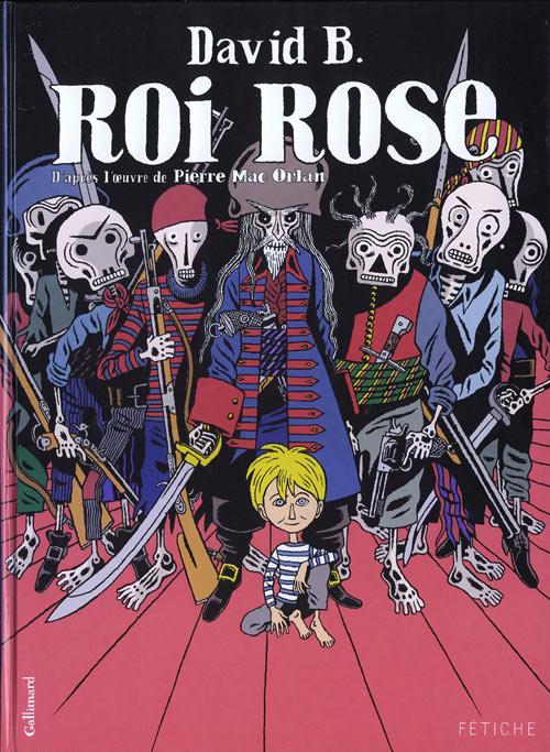 Couverture de Roi Rose