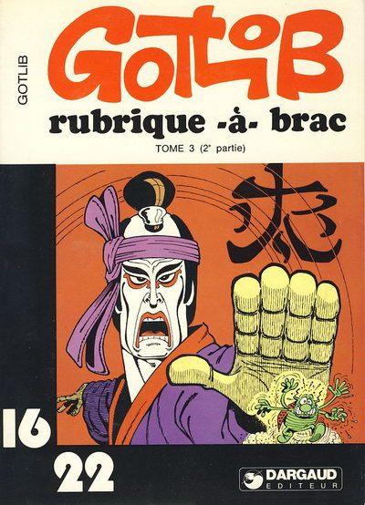Couverture de Rubrique-à-Brac (16/22) -666- Tome 3 (II)