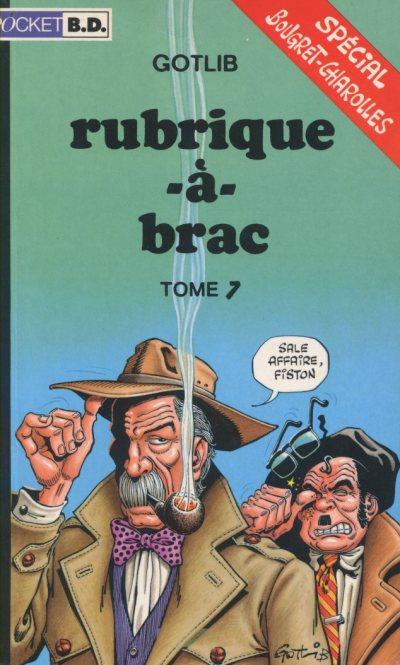 Couverture de Rubrique-à-Brac (Pocket BD) -7a- Tome 7