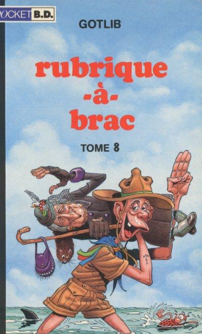 Couverture de Rubrique-à-Brac (Pocket BD) -8a- Tome 8