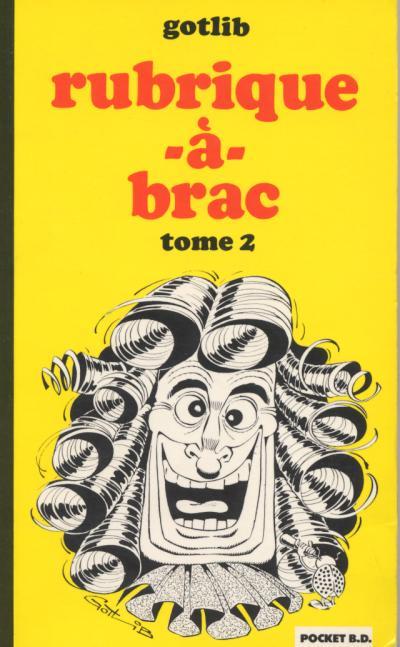 Couverture de Rubrique-à-Brac (Pocket BD) -2a- Tome 2