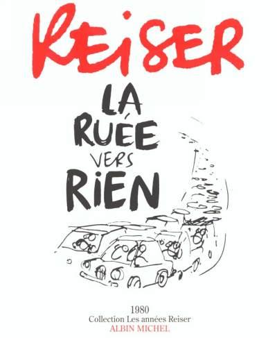 Couverture de Les années Reiser -7- La ruée vers rien