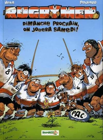bande dessinee rugbymen