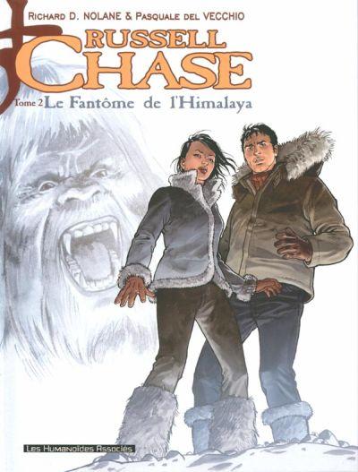 Couverture de Russell Chase -2- Le fantôme de l'Himalaya