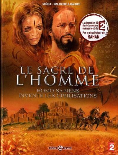 Couverture de Homo Sapiens -2- Le sacre de l'homme