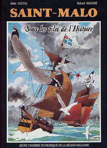 Couverture de Saint-Malo - Sous les ailes de l'Histoire