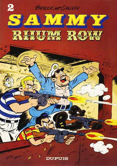 Couverture de Sammy -2- Rhum row