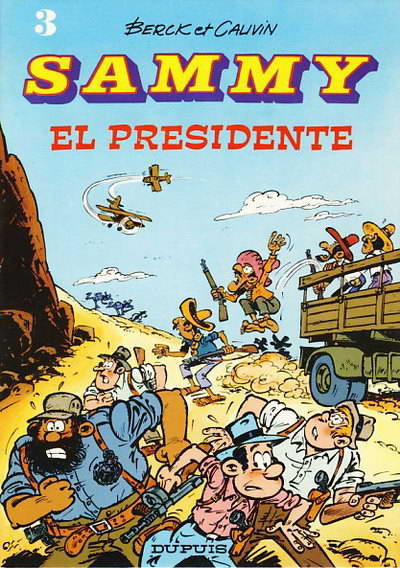 Couverture de Sammy -3- El Presidente