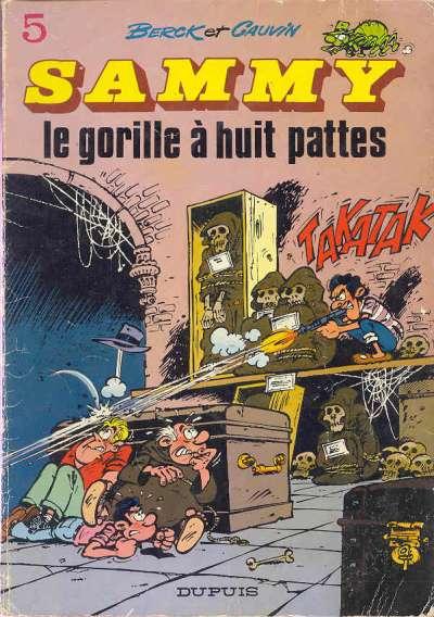 Couverture de Sammy -5- Le gorille à huit pattes