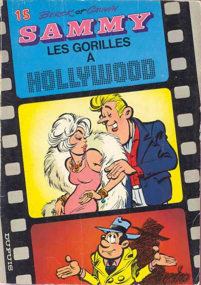 Couverture de Sammy -15- Les gorilles à Hollywood
