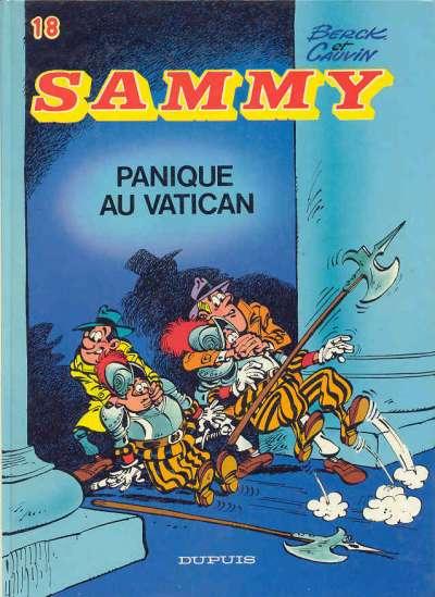 Couverture de Sammy -18- Panique au Vatican