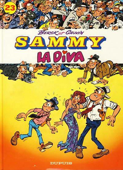 Couverture de Sammy -23- La diva