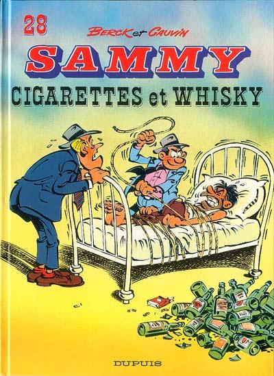 Couverture de Sammy -28- Cigarettes et Whisky