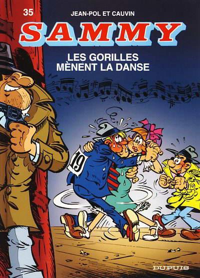 Couverture de Sammy -35- Les gorilles mènent la danse
