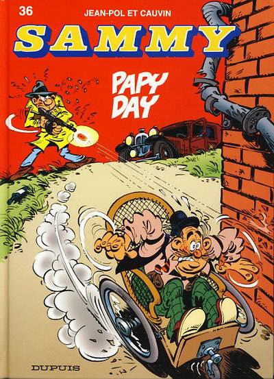 Couverture de Sammy -36- Papy Day