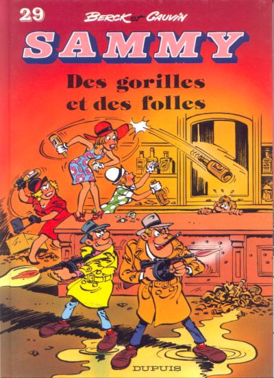 Couverture de Sammy -29- Des gorilles et des folles