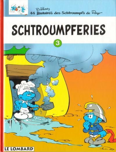 Couverture de Les schtroumpfs - Schtroumpferies -3- Schtroumpferies - 3