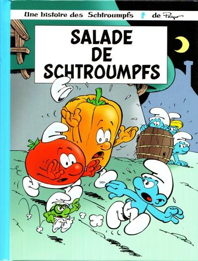 Couverture de Les schtroumpfs (Édition 50 ans - minis) -10Mini- Salade de schtroumpfs