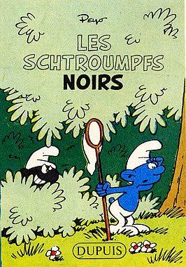 Couverture de Schtroumpfs (Mini-récits) -1MR1107- Les Schtroumpfs noirs