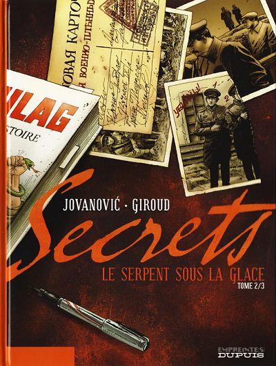 Couverture de Secrets - Le serpent sous la glace -2- Tome 2