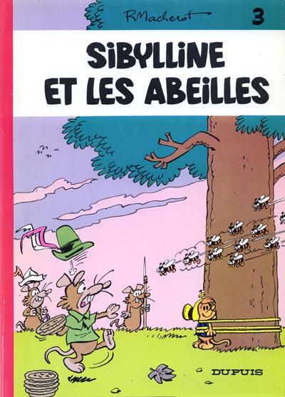Couverture de Sibylline -3- Sibylline et les abeilles