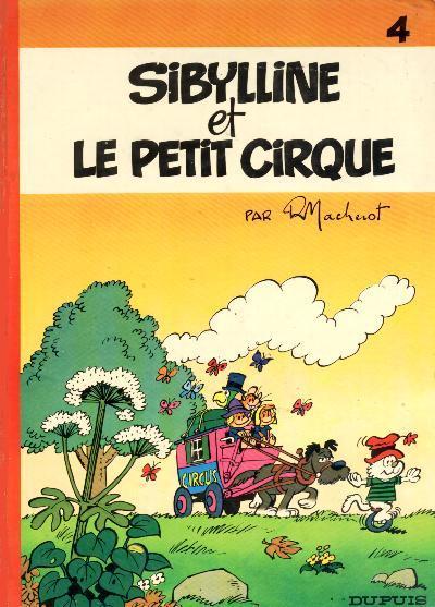 Couverture de Sibylline -4- Sibylline et le petit cirque