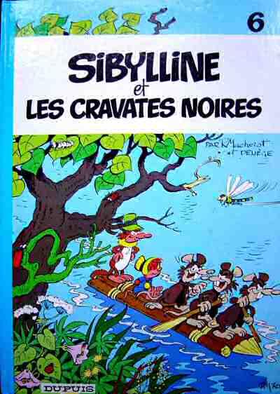 Couverture de Sibylline -6- Sibylline et les cravates noires