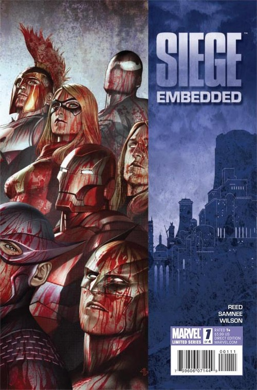 Couverture de Siege Embedded (Marvel Comics - 2010) -1- Book one