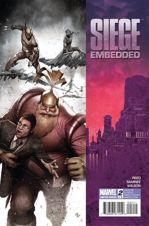Couverture de Siege Embedded (Marvel Comics - 2010) -2- Book two