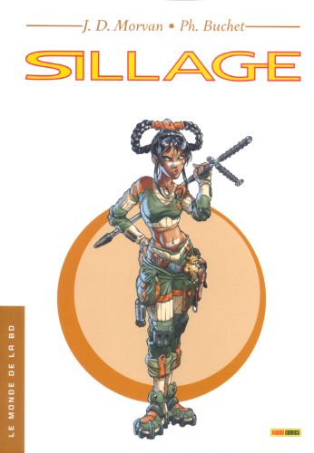 Couverture de Sillage -MBD09- Sillage - Le Monde de la BD - 09