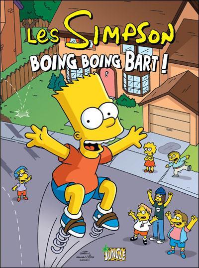 Couverture de Les simpson (Jungle !) -5- Boing boing Bart !