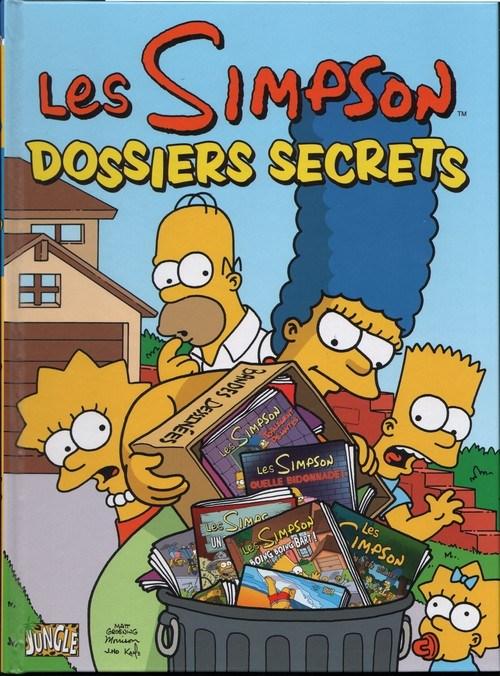 Couverture de Les simpson (Jungle !) -7- Dossiers secrets