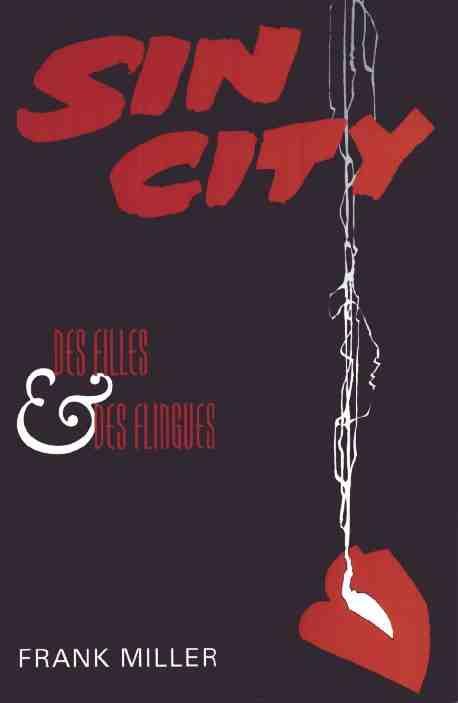 Couverture de Sin City -6- Des filles et des flingues