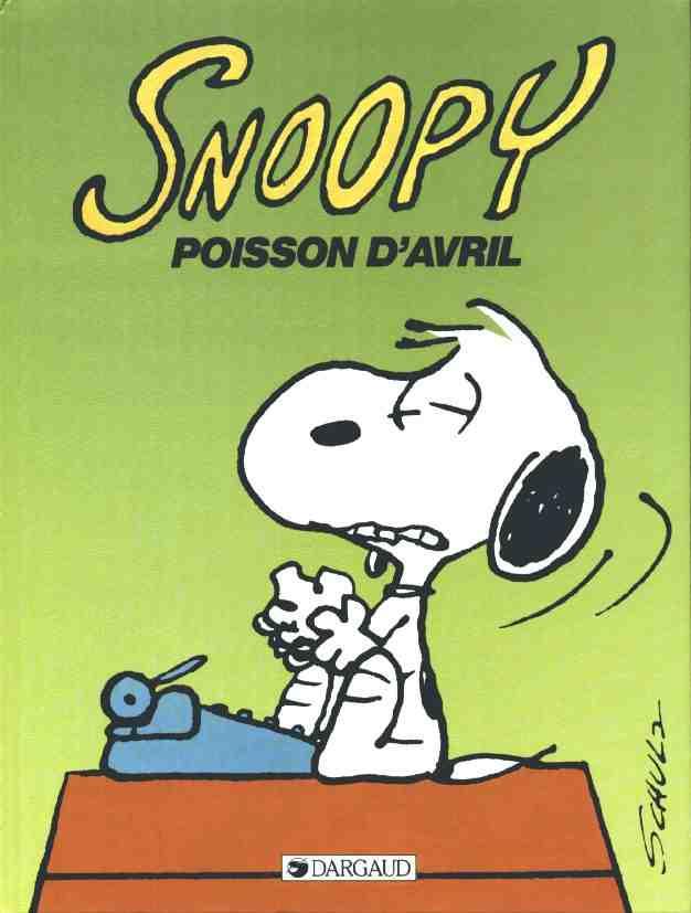 Couverture de Peanuts -6- (Snoopy - Dargaud) -18- Poisson d'Avril
