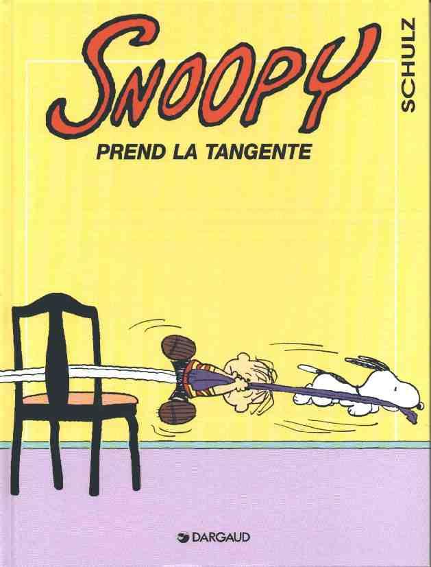 Couverture de Peanuts -6- (Snoopy - Dargaud) -29- Snoopy prend la tangente